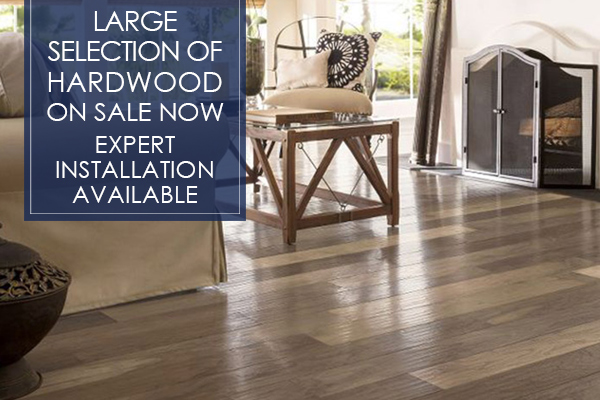 Large selection of hardwood on sale now! Get amazing prices and expert installation only at Abbey Carpet of San Francisco!