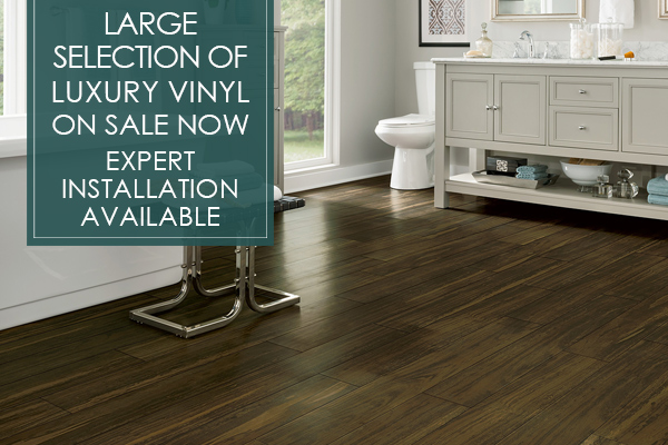Large selection of Luxury Vinyl on sale now! Get amazing prices and expert installation only at Abbey Carpet of San Francisco!